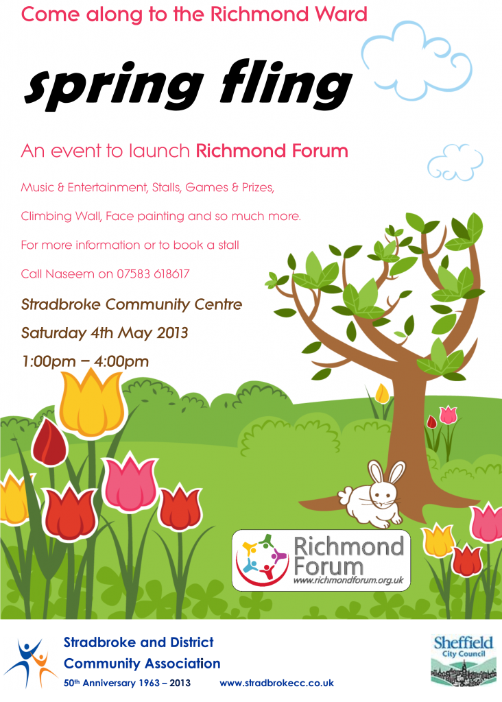 Spring fayre poster 2