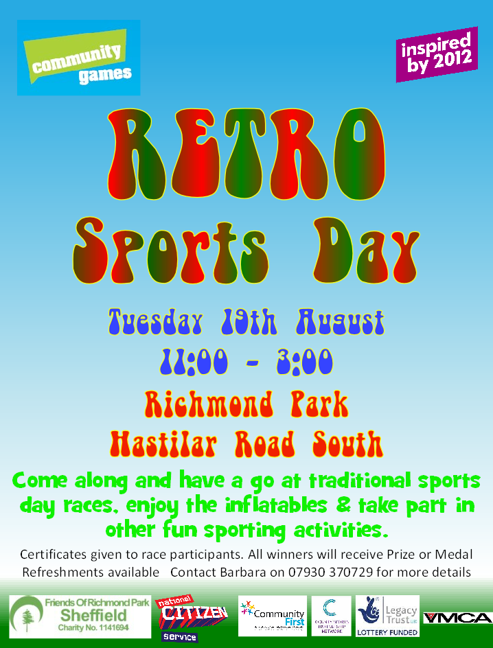 retro sports day aug 14