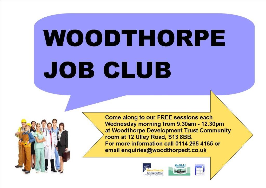 Woodthorpe job club advert